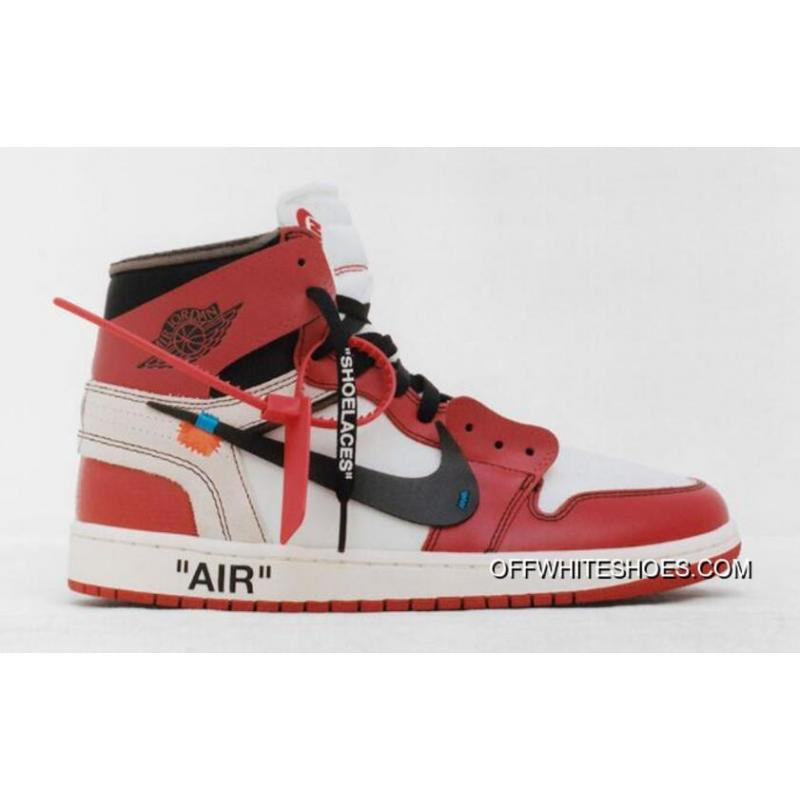 "Discount OFF-WHITE X Air Jordan 1 High OG ""The Ten"" White Black ... f5ee047c1"