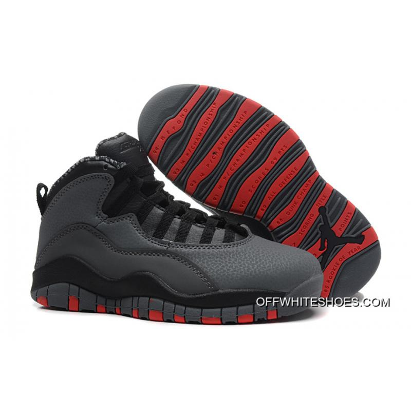 48bd5f631a2e7a New Style New Air Jordan 10 Retro Cool Grey Infrared-Black ...