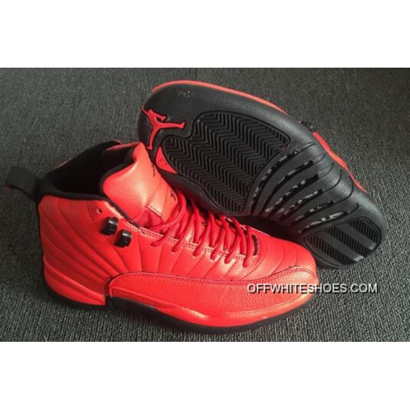 "0b21273cd14 Online Air Jordan 12 ""Bulls"" Gym Red/Black, Price: $87.72 - OFF ..."
