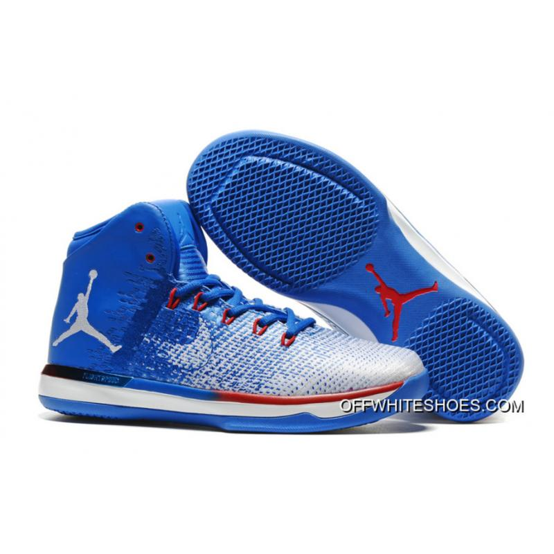"innovative design 659e9 11f69 Best Air Jordan XXXI ""Olympics"" USA Deep Royal Blue White University Red ..."