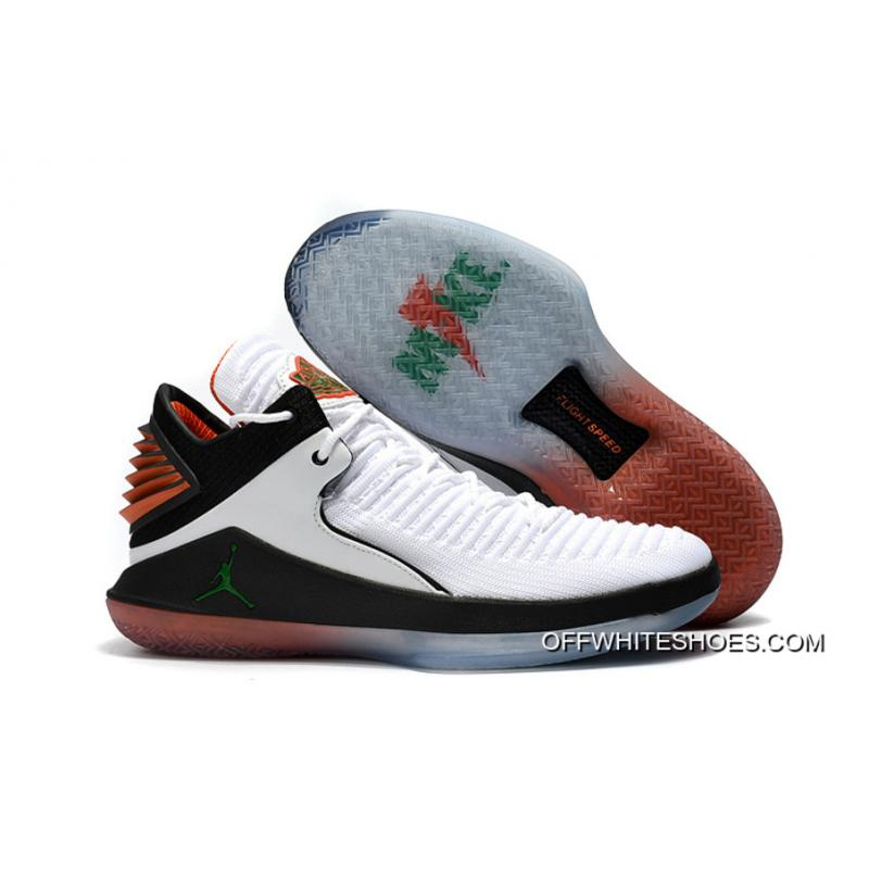 "Latest Air Jordan 32 Low ""Gatorade"" White/Pine Green-Black ..."