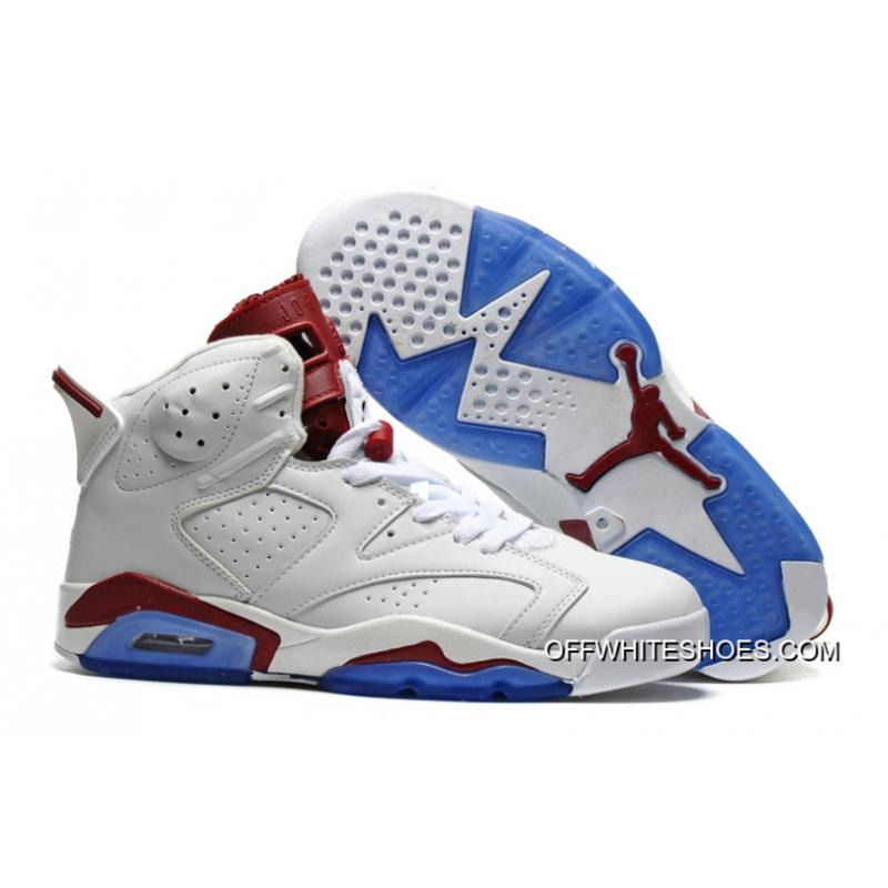 """on sale c0532 a2aa6 Air Jordan 6 """"Maroon"""" Off-White New Maroon Cheap To Buy ..."""