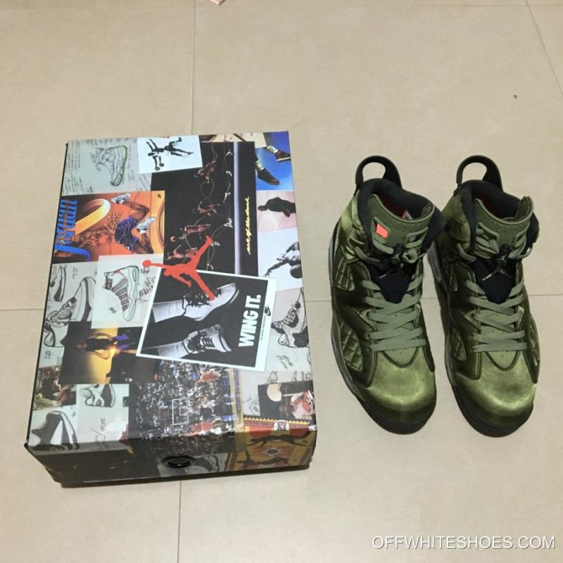 "bb603db7c06f ... New Release Air Jordan 6 Pinnacle ""Saturday Night Live"" Palm Green Palm  Green"