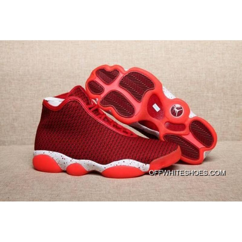 quality design 5423a 3e7e4 Latest Air Jordan Horizon Future AJ13 Red White Basketball Shoes ...