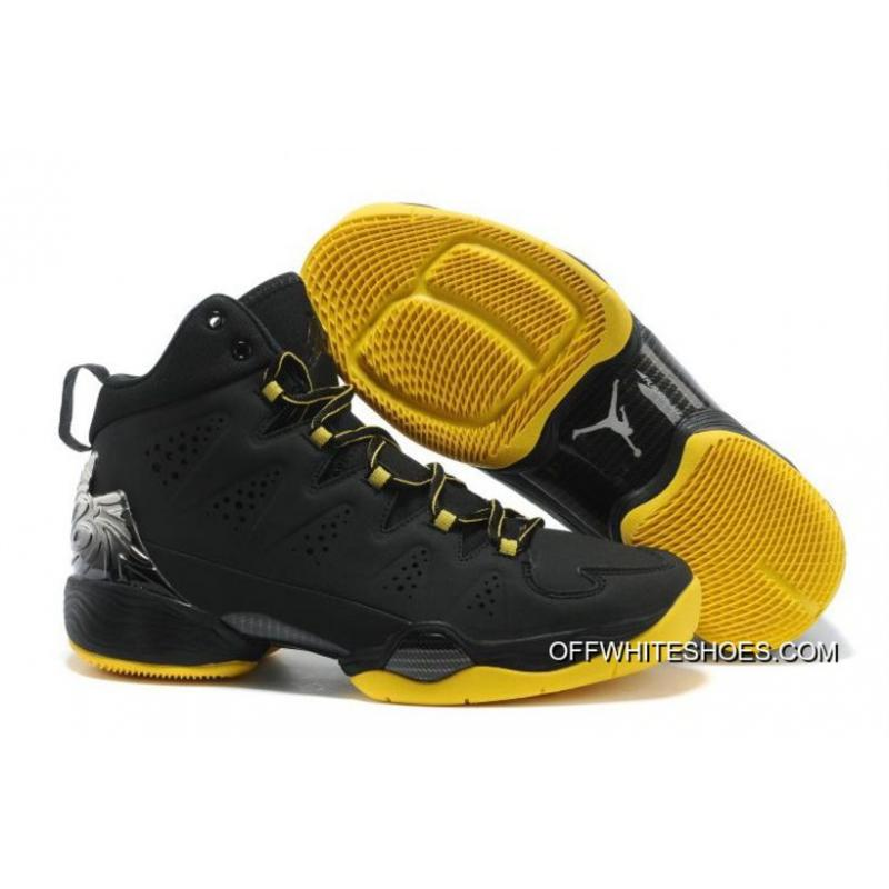 e23f2ad29edb New Jordan Melo M10 Black Yellow Shoes Top Deals ...