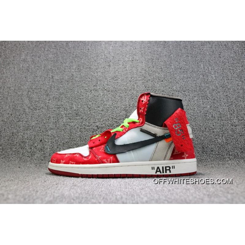 new product beab7 73123 Online OFF-WHITE Air Jordan X LV AJ 1 Three Parties To Be Limited Also  Shoes Men Shoes AA3834 104
