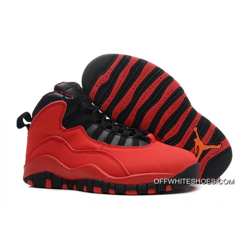 "6c5c7b1b3d51 New Air Jordan 10 Retro ""Fusion Red"" Top Deals ..."