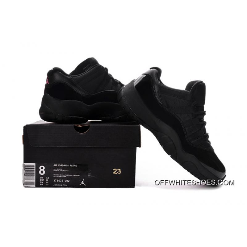 ec2696b44091 ... Air Jordan 11 Low Black Pink Lovers Shoe Discount