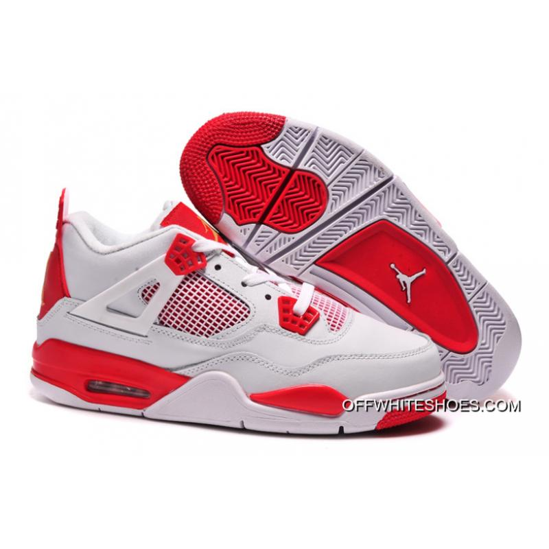 best sneakers b0eba 51e0a ... italy new air jordan 4 retro melo pe white red for sale 8649b 62078