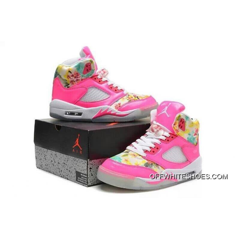 63bb070dca2d New Air Jordan 5 GS Pink Cherry Blossom New Style ...