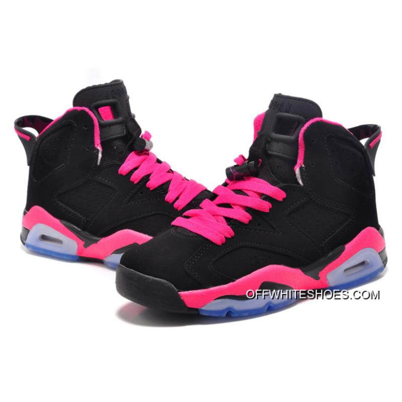 7f5e830b729c New Air Jordan 6 GS Black Fusion Pink Latest ...