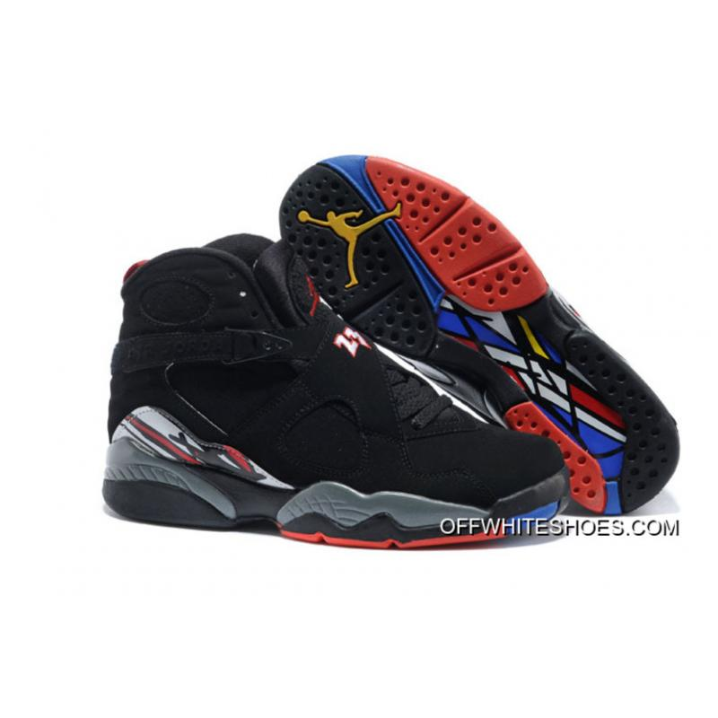 "b6f2afb686b6 Air Jordan 8 Retro ""Playoffs"" Black True Red-White Online ..."