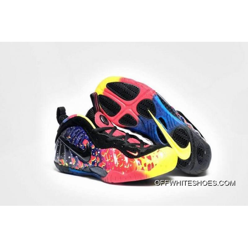 "4ef803007ee Off-White Free Shipping Girls Nike Air Foamposite Pro GS ""Asteroid"" ..."