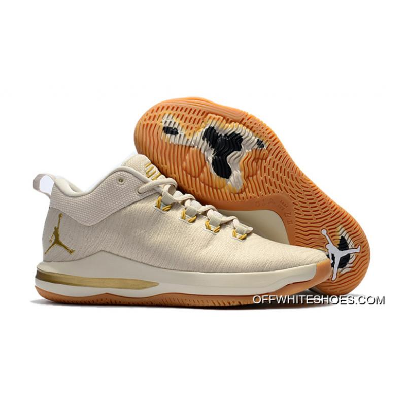 0a5d1fabd0b4 For Sale Jordan CP3.X AE Light Orewood Brown Gum Yellow Metallic Gold ...