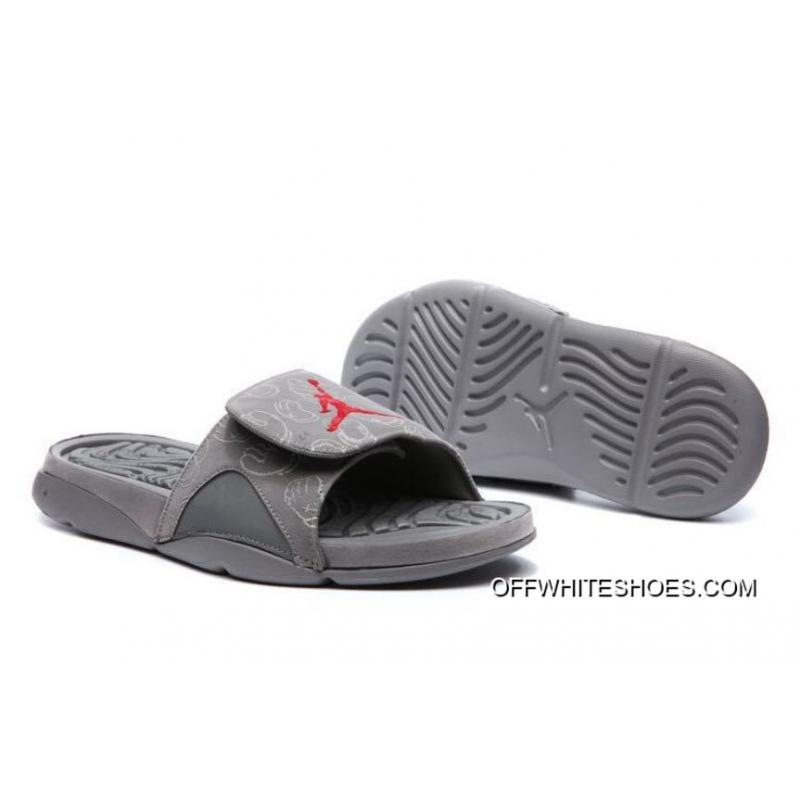 "4e6068db5 KAWS X Air Jordan 4 ""Cool Grey"" Glow In The Dark Slide Slippers Online ..."