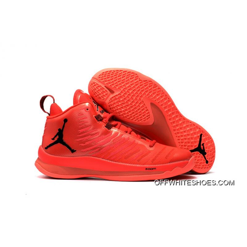 4f0fbc1bd3a New Jordan Super.Fly 5 X Red Black Top Deals ...