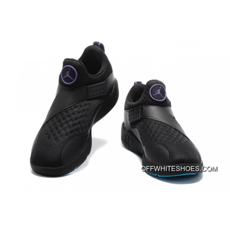 info for 266a9 a5e05 ... Copuon Jordan Trainer Essential Black Purple Blue Training Shoes ...