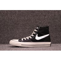 Sulfide Double Around Market Nike X Converse 1970 S To Be Smiling Face 142334 C Black White High New Year Deals
