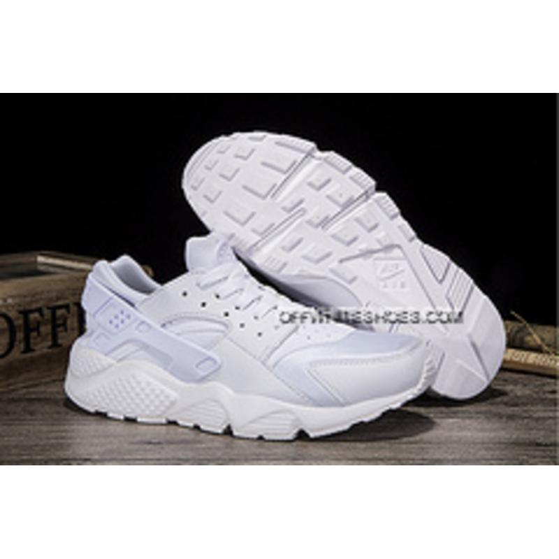 56fbd4ec838 1 All White Nike Air Huarache 36 45 Couple Model Online ...