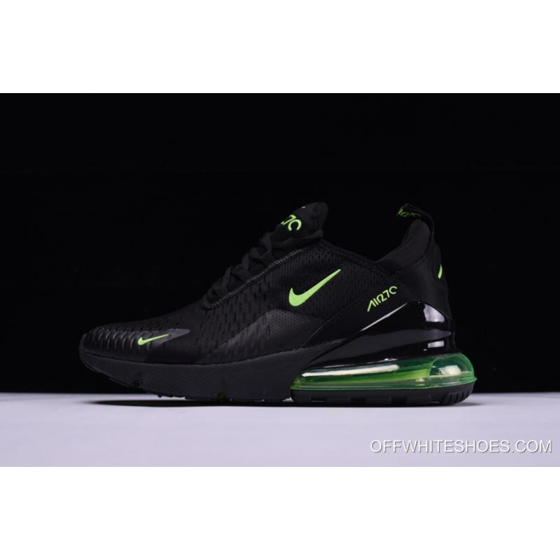 release date: c6f88 bf88e Nike Air Max 270 Black/Neon Green Outlet, Price: $87.95 - OFF-WHITE ...