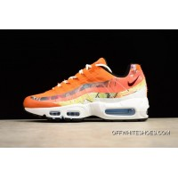 "ef8a07c602f New Year Deals Dave White X Nike Air Max 95 ""Fox"" Cayenne Team"