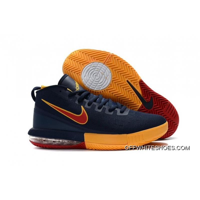 "c18f0a5ad7b2 Free Shipping Nike Air Max Dominate EP ""Cavs"" Navy Blue Yellow-Burgundy ..."