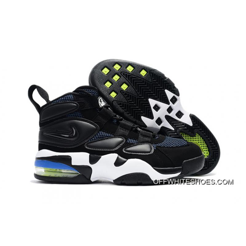 0095eb05dcff8 Nike Air Max Uptempo 2 Black White Blue Online ...