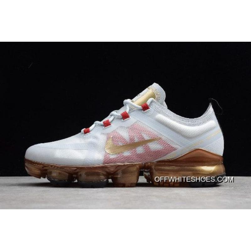 "337a651a38a Nike Air VaporMax 2019 ""Chinese New Year"" Pure Platinum Metallic Gold-Gym  ..."