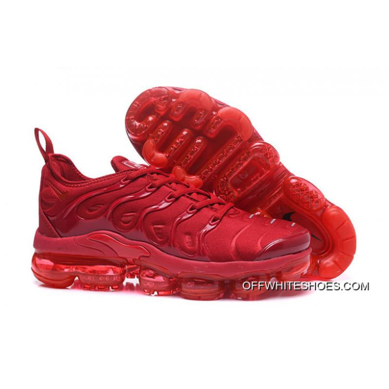 check out 67f29 82adc Nike Air VaporMax Plus All Red New Release