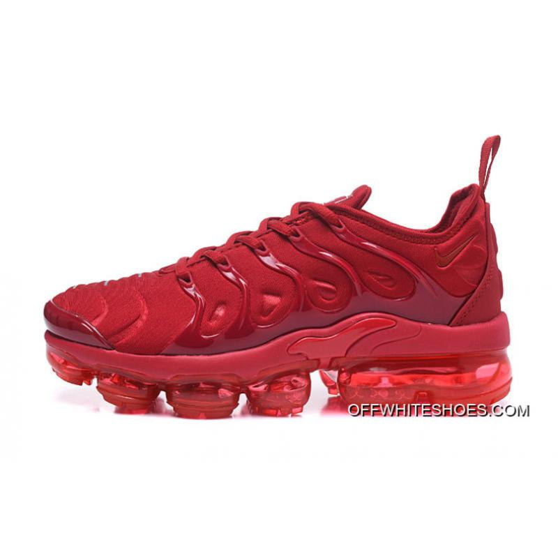 ... Nike Air VaporMax Plus All Red New Release ...