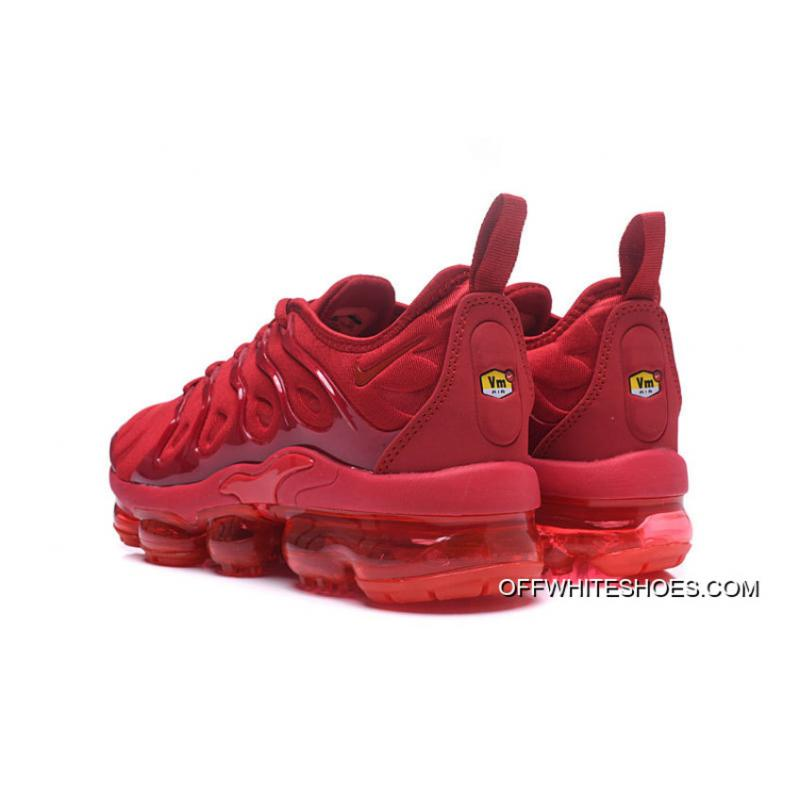 ... Nike Air VaporMax Plus All Red New Release