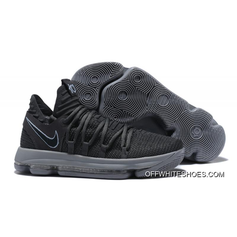 d403eb88174a New Style Nike KD 10 Dark Grey Reflective Silver ...