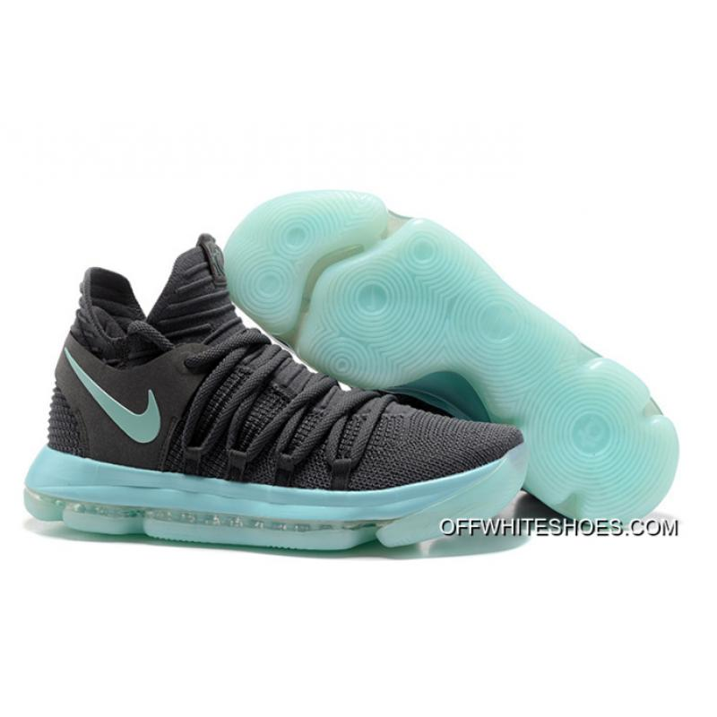 """low cost 555dc 0375d For Sale Nike KD 10 """"Igloo"""" Cool Grey Igloo-White ..."""