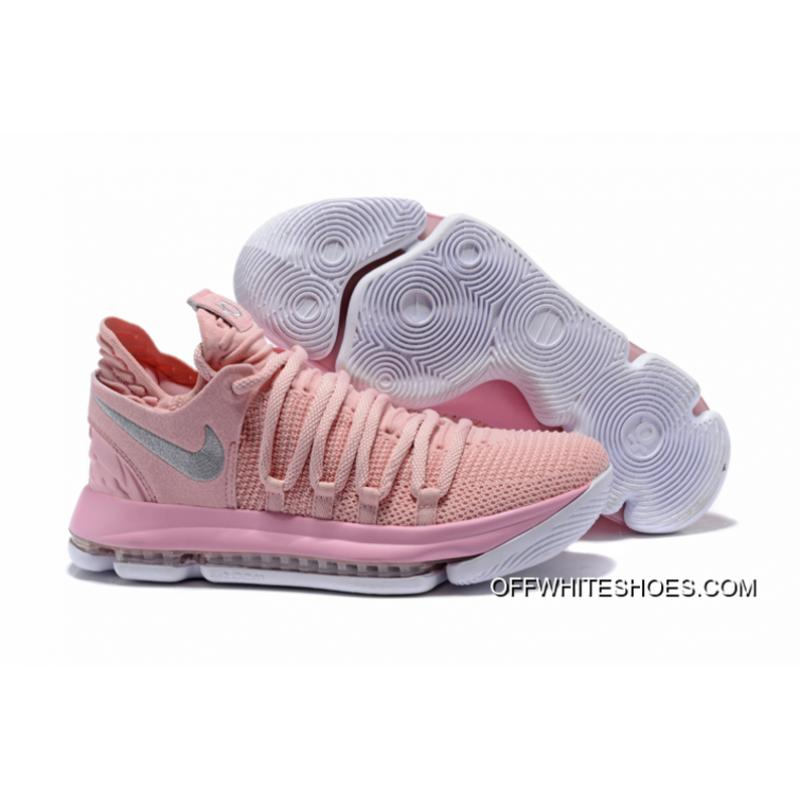 another chance 680c3 d2eb5 ... denmark nike kd 10 aunt pearl pearl pink white sail new style 51185  540f9