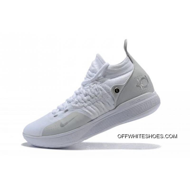 the best attitude 98f2b 5bdc2 Big Deals Men s Nike KD 11 White Chrome-Pure Platinum Basketball Shoes ...