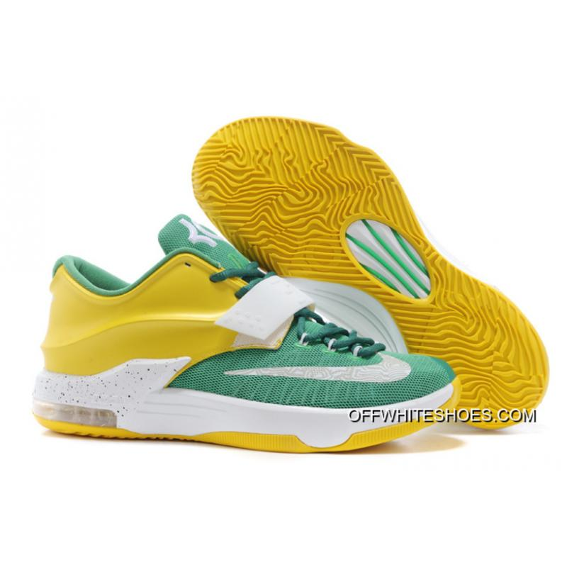 """more photos f1205 657c7 Nike Kevin Durant KD 7 VII """"Draft Day"""" Apple Green Yellow Strike- ..."""