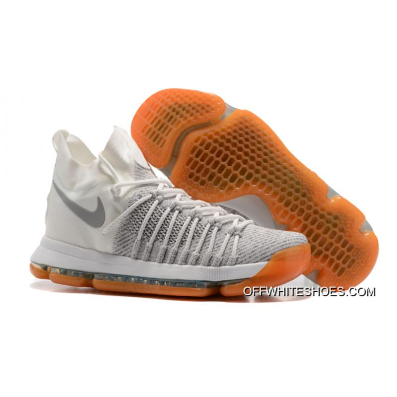 "timeless design e756e 4cf77 Top Deals Nike Zoom KD 9 Elite ""Ivory"" Pale Grey-Ivory ..."