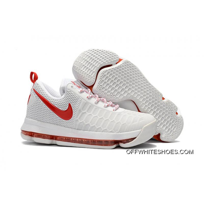 Nike KD 9 With Red Basketball Shoes New Style ...