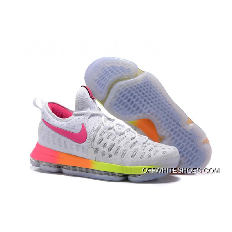 new styles 67219 18080 where to buy nike kd 9 pink yellow 403d4 28318