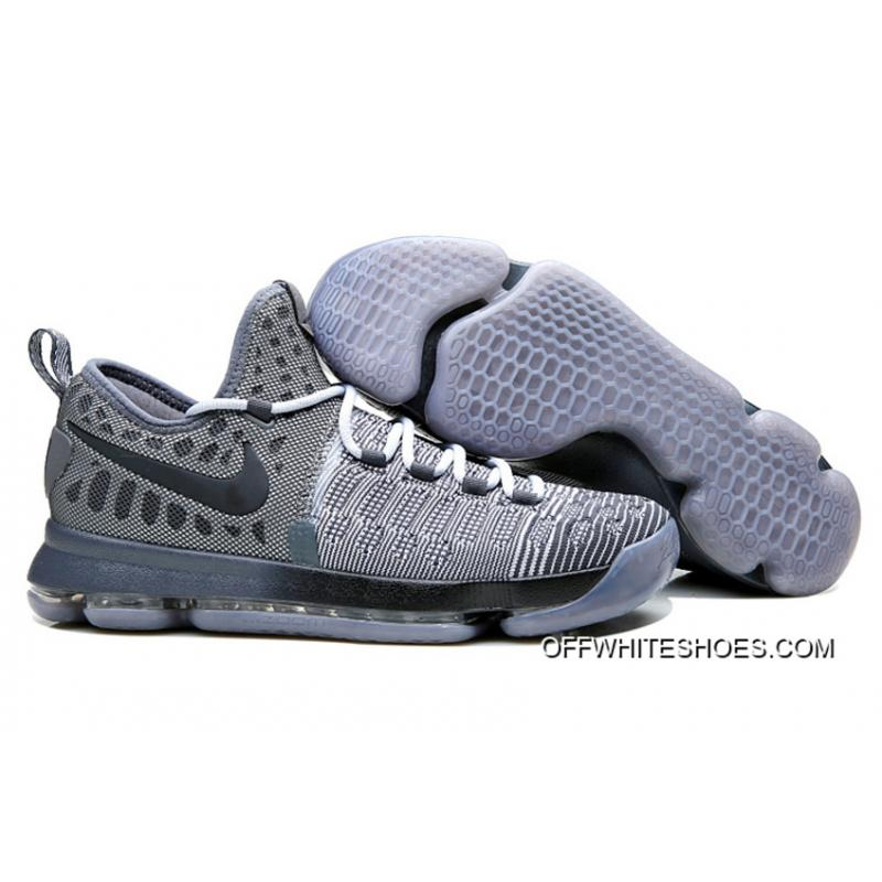 "530d202d08e6 Discount Nike KD 9 ""Battle Grey"" Wolf Grey Dark Grey ..."