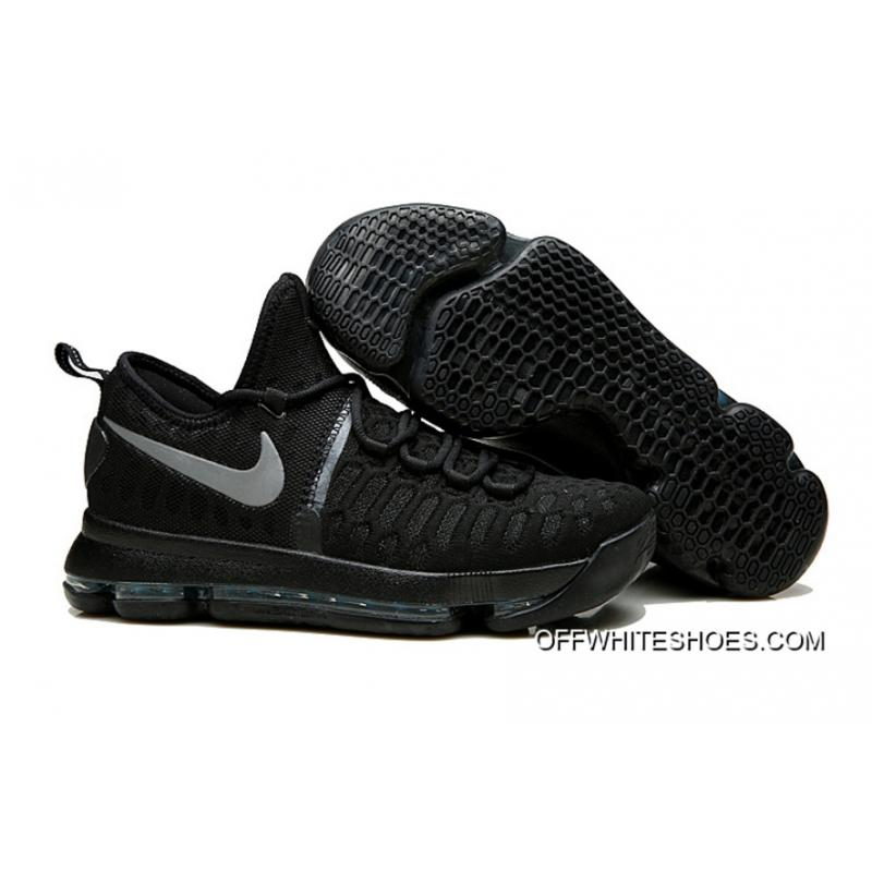"""lowest price b0e2b 2be49 Nike KD 9 """"Black Space"""" Black Black Anthracite Outlet ..."""