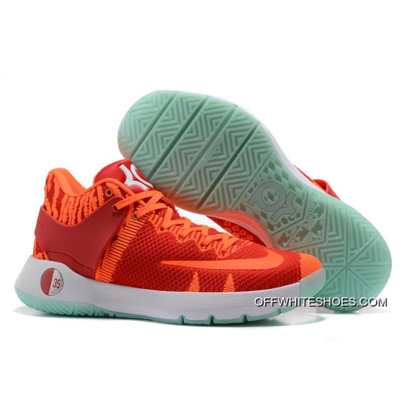 best sneakers 6ec23 8f5b7 wholesale nike kd trey 5 knit red orange white outlet eccdc bc05a