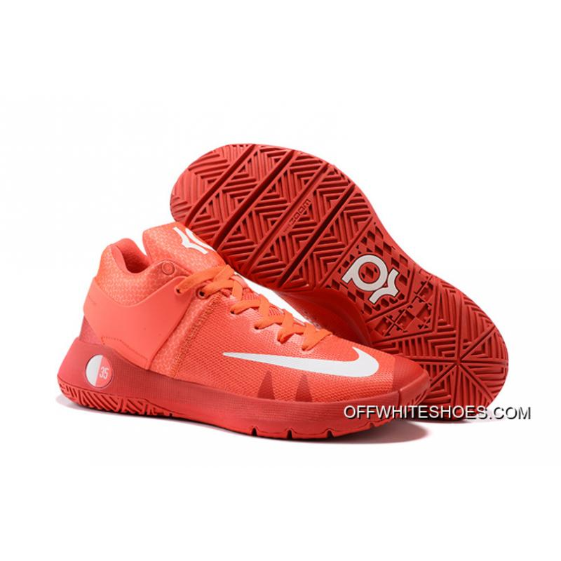 save off ded65 bfae0 Nike KD Trey 5 IV Bright Crimson University Red Metallic Silver White Outlet  ...