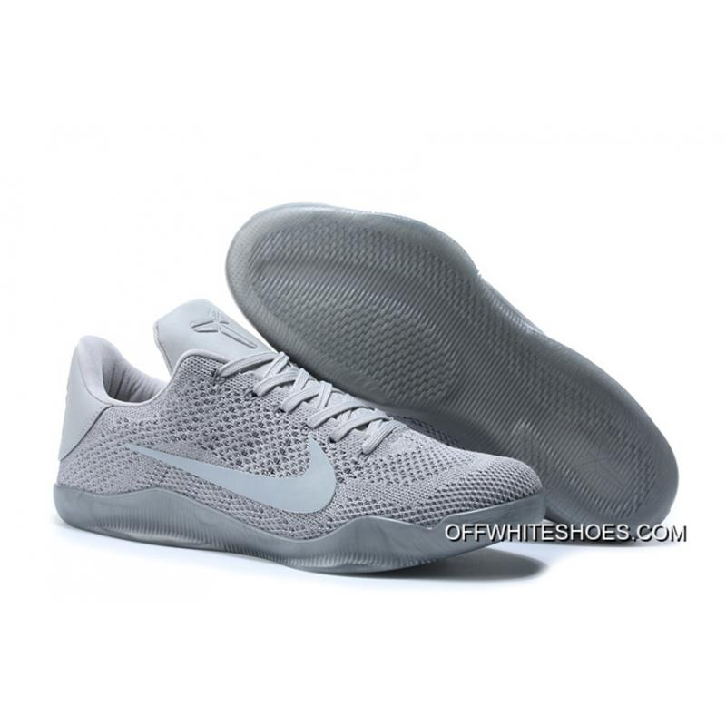 newest 1938f 62f41 Nike Kobe 11 Elite Low Silvery Gray Top Deals ...