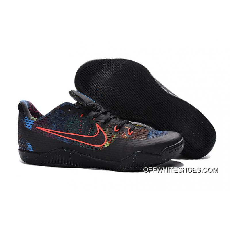 5e8dc1a917fc Super Deals Nike Kobe 11 Black Colorful Basketball Shoes ...