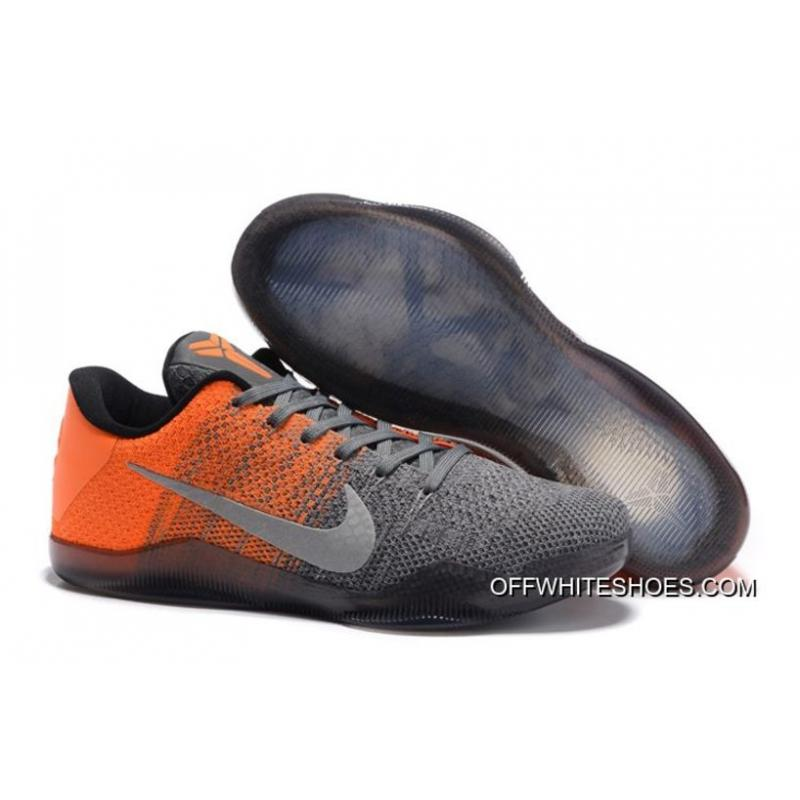 best service d64fd ef147 ... uk nike kobe 11 elite low easter grey orange for sale 042ff d1092