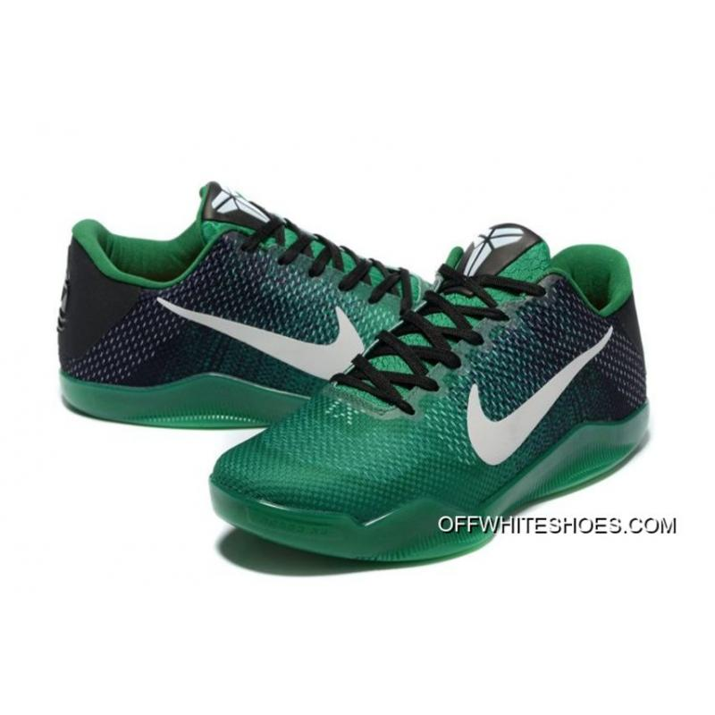 11b2f8da16b4 ... Nike Kobe 11 Black Green Shoes Online Outlet Online