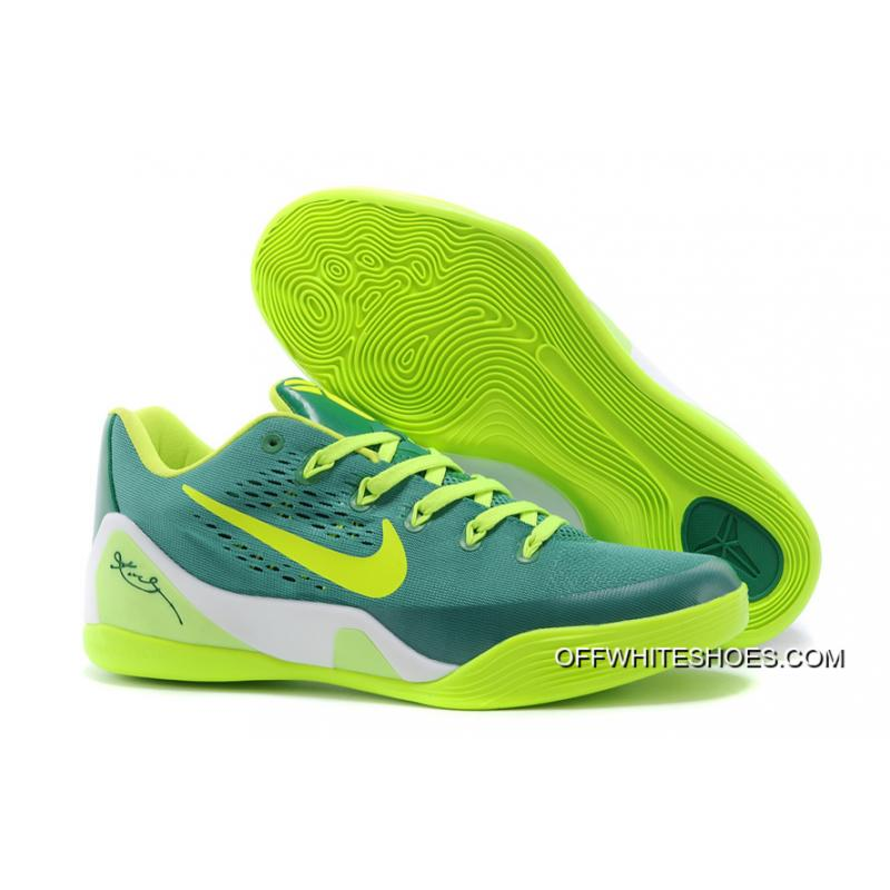 new product 315c2 bb7b9 ... promo code online nike kobe 9 low em green neon green 496c0 43f2e
