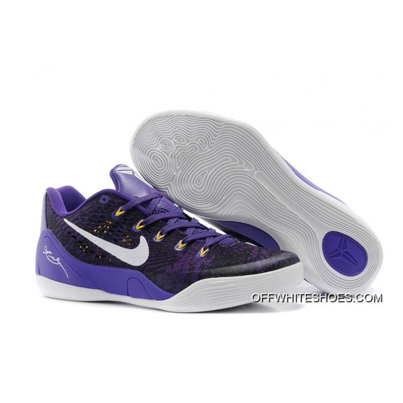 timeless design e75d1 6a056 where can i buy kobe 9 low em purple c0524 86523