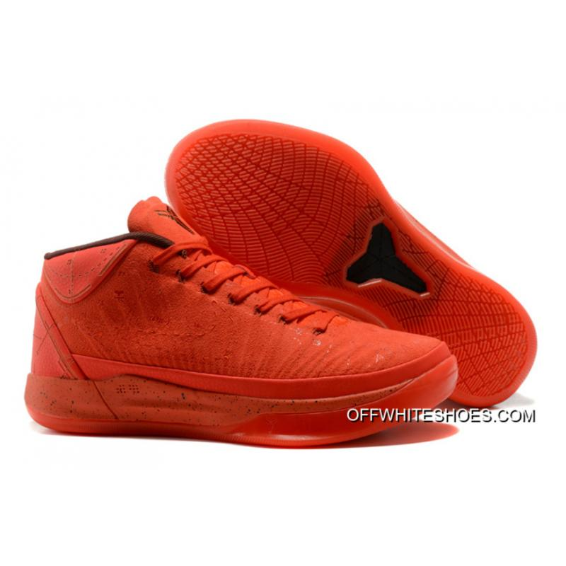 "647d61238c06 New Release Nike Kobe A.D. Mid ""Passion"" Red ..."